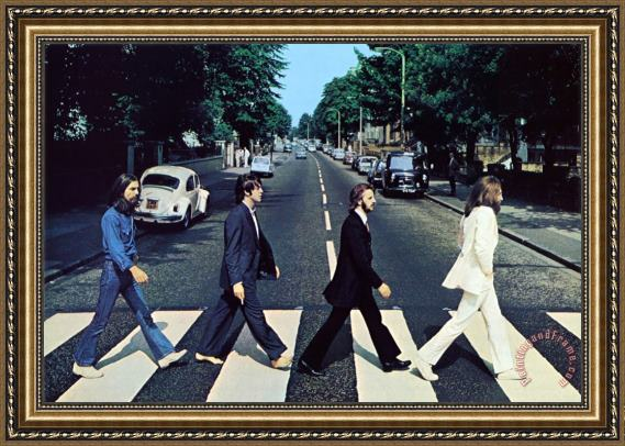 Collection The Beatles Abbey Road III Framed Painting for sale ...
