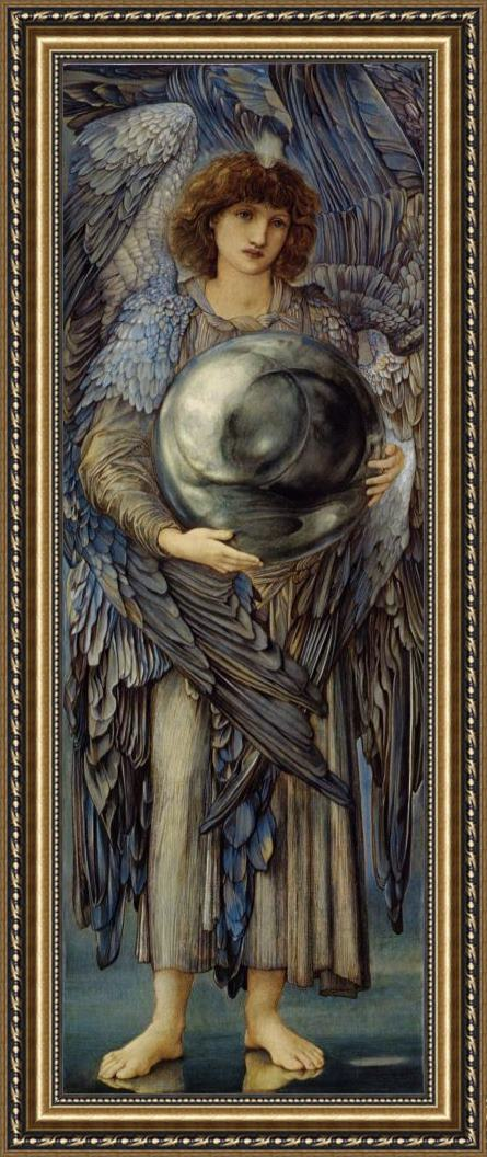 Edward Burne Jones The Days of Creation The First Day Framed Print