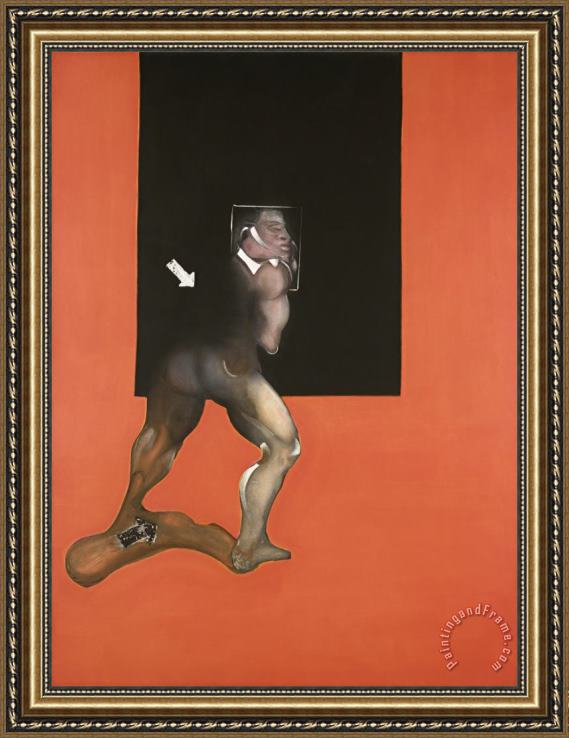 Francis Bacon Study From The Human Body, 1987 Framed Print