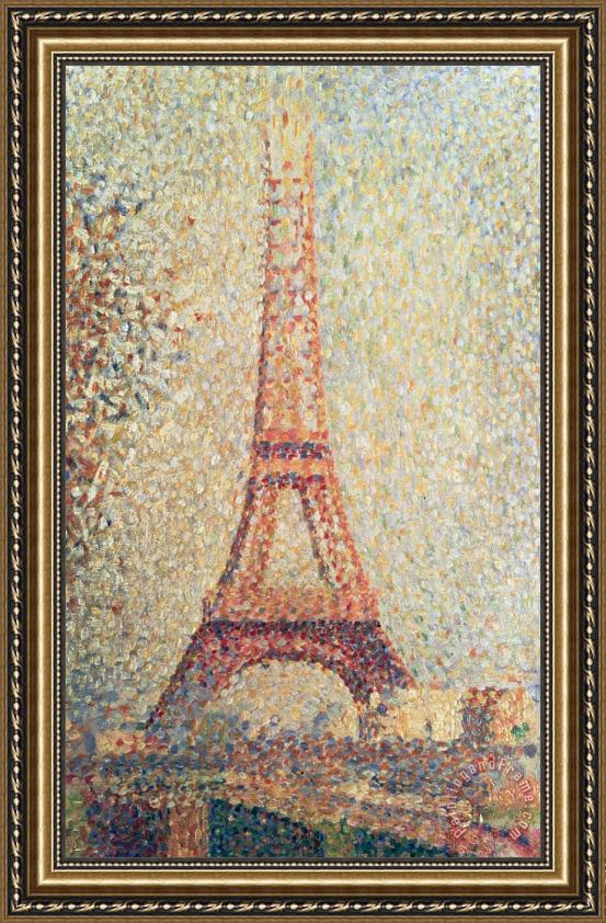 Georges Seurat Eiffel Tower Seurat The Eiffel Tower