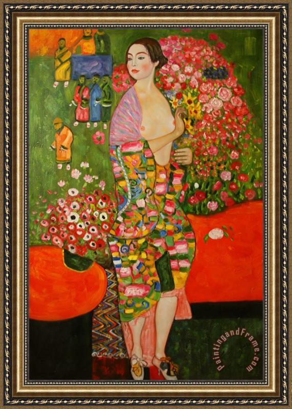 The Dancer (Klimt) Posters, Prints, Paintings & Wall Art
