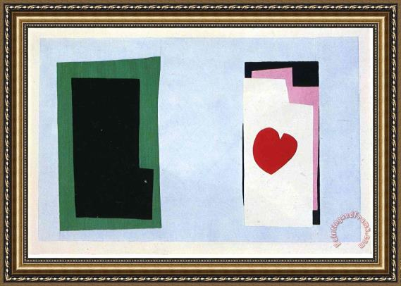 Henri Matisse Cut Outs 2 Framed Painting