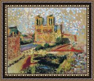 Henri Matisse Notre Dame Art Painting For Sale