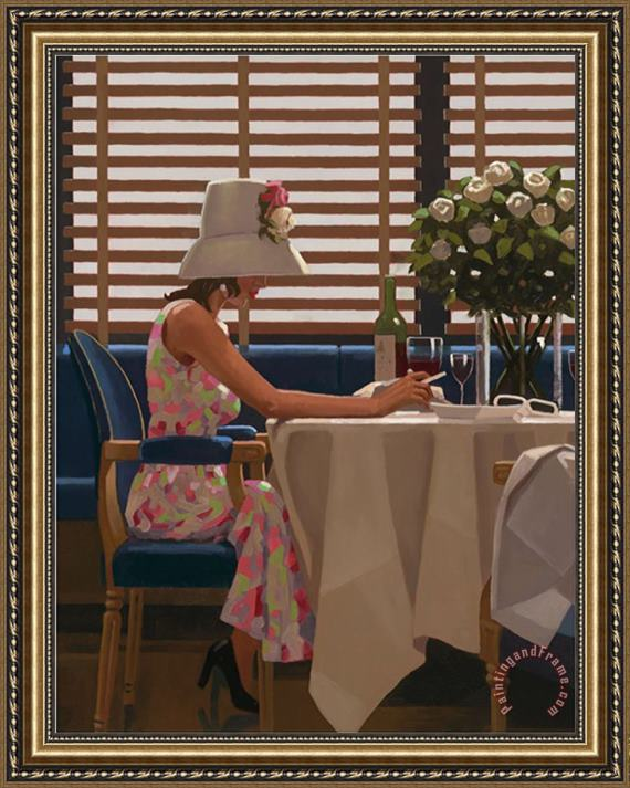 Jack Vettriano Days of Wine Roses Framed Painting