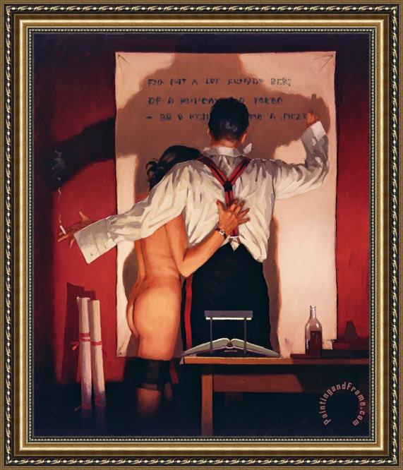 Jack Vettriano The Great Poet Framed Print