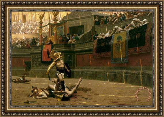 Pollice Verso Painting