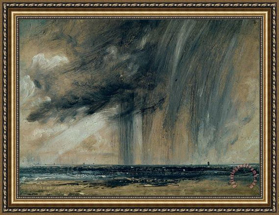 John Constable Rainstorm over the Sea Framed Print