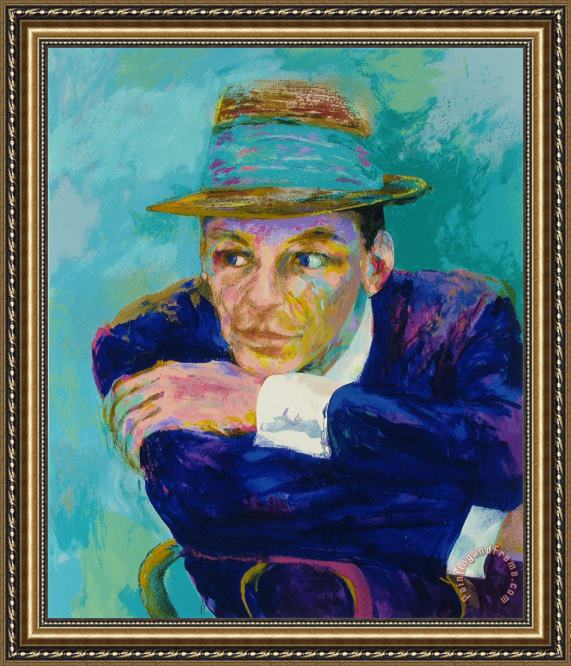 Leroy Neiman Frank Sinatra The Voice Framed Print for sale ...