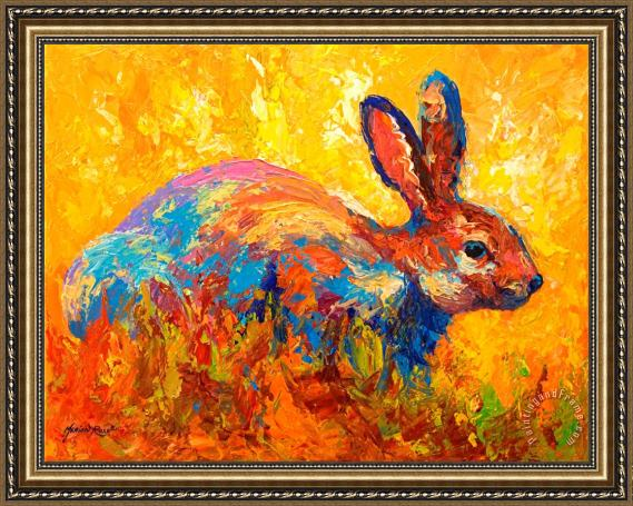 Marion Rose Forest Rabbit II Framed Painting