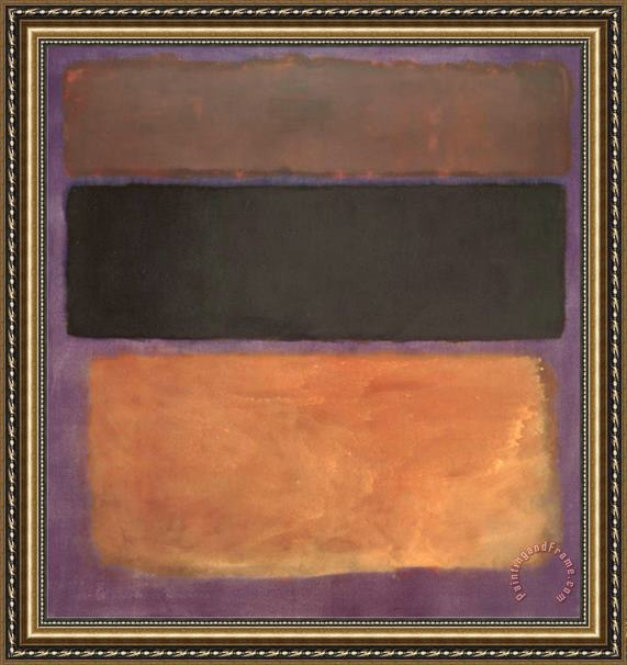 Mark Rothko No 10 1963 Framed Print
