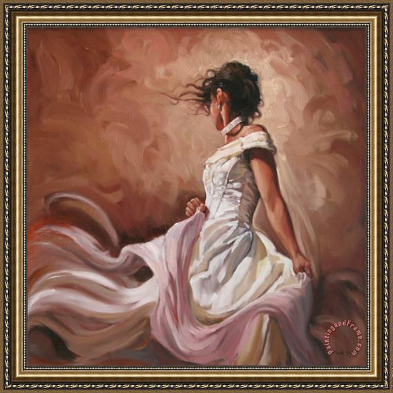 Mark Spain Light Breeze I Framed Painting