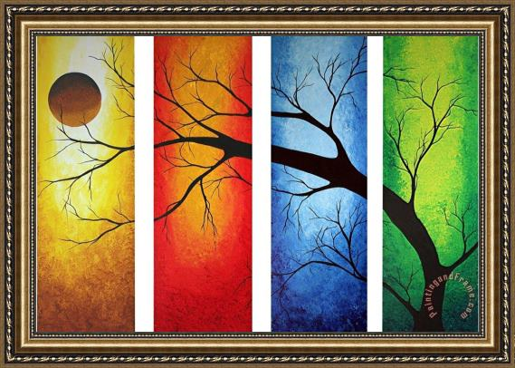 Megan Aroon Duncanson In Living Color Framed Print