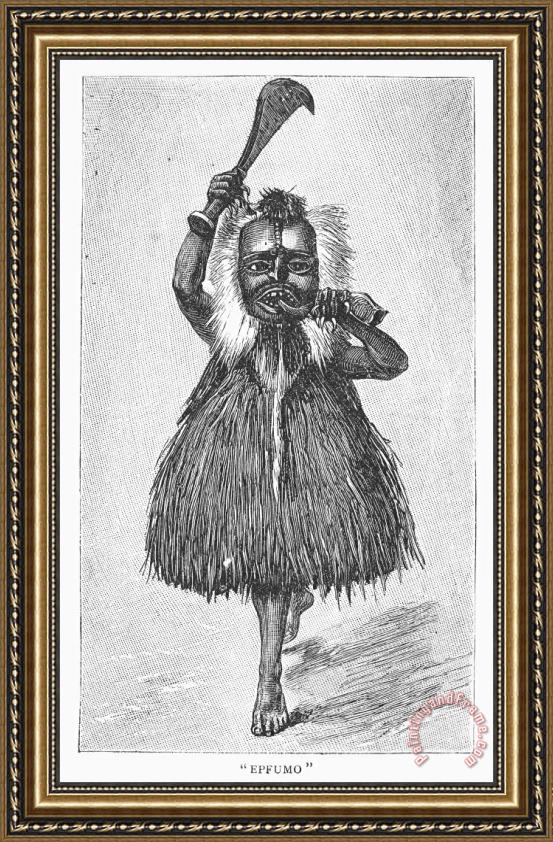 Others East African, 1889 Framed Print