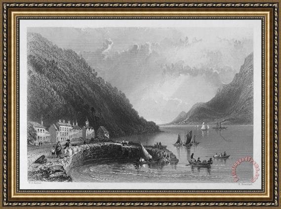 Others IRELAND: ROSTREVOR, c1840 Framed Print