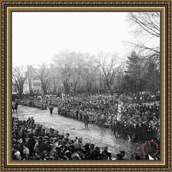 Others Lincolns Inauguration Framed Painting