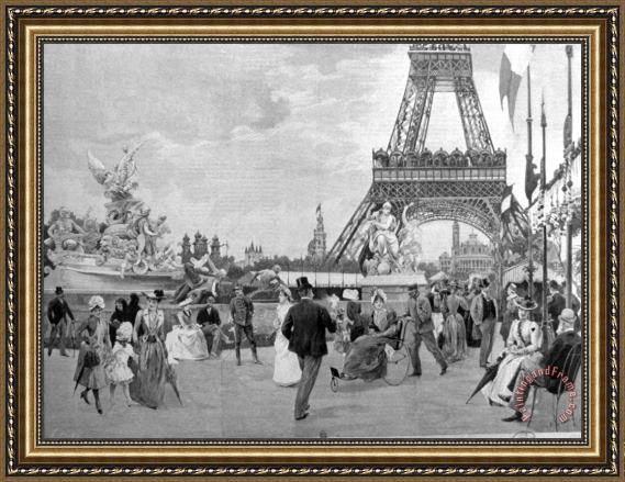 Others Paris: Eiffel Tower, 1889 Framed Print