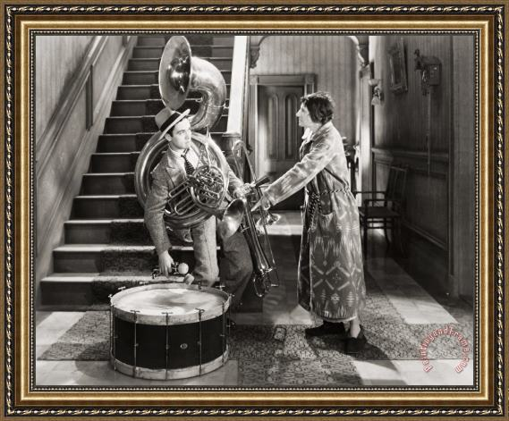Others Silent Film Still: Music Framed Painting
