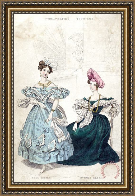 Others Womens Fashion, 1833 Framed Print