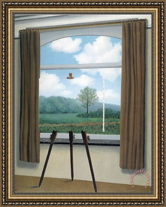 rene magritte The Human Condition 1933 Framed Print
