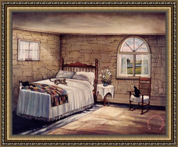 Robert Foster Cat Nap Framed Print