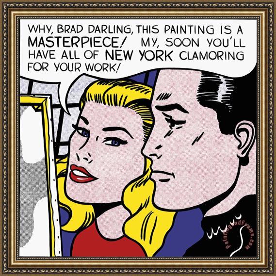 Αποτέλεσμα εικόνας για Masterpiece by Roy Lichtenstein