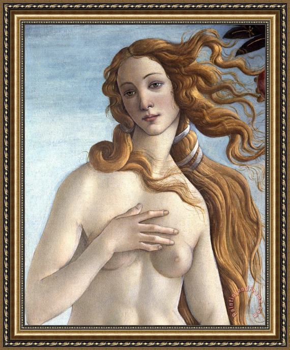 Sandro Botticelli The Birth of Venus Framed Painting