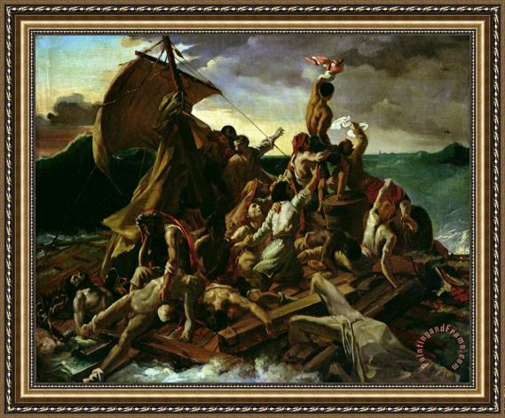 Theodore Gericault The Raft of the Medusa Framed Print