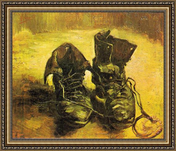 Favorite Vincent van Gogh A Pair of Shoes Framed Print for sale  EV05