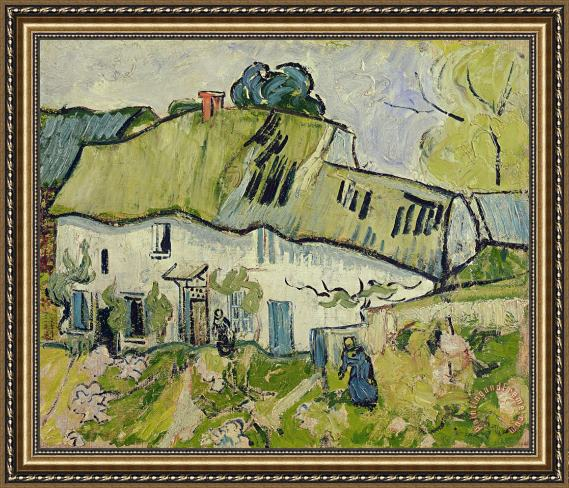 Vincent van Gogh The Farm in Summer Framed Print