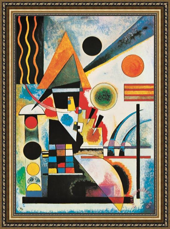 Wassily Kandinsky Balancement Framed Painting for sale ...