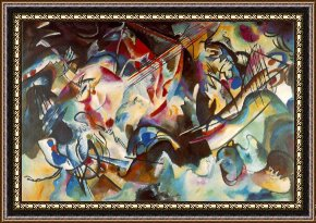 Wassily Kandinsky Framed Paintings for Sale