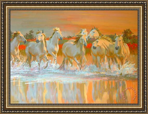 William Ireland Camargue Framed Print