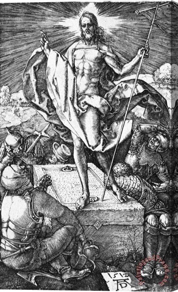 Albrecht Durer The Resurrection Of Christ Stretched Canvas Print / Canvas Art