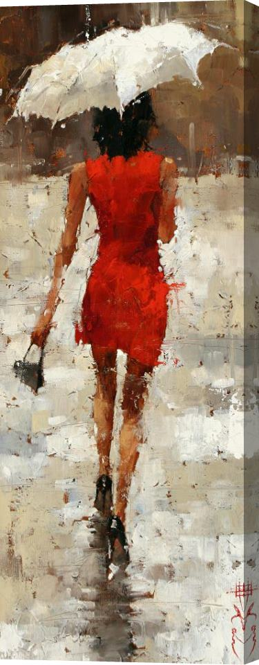 Andre Kohn Stilettos 3 Stretched Canvas Print / Canvas Art