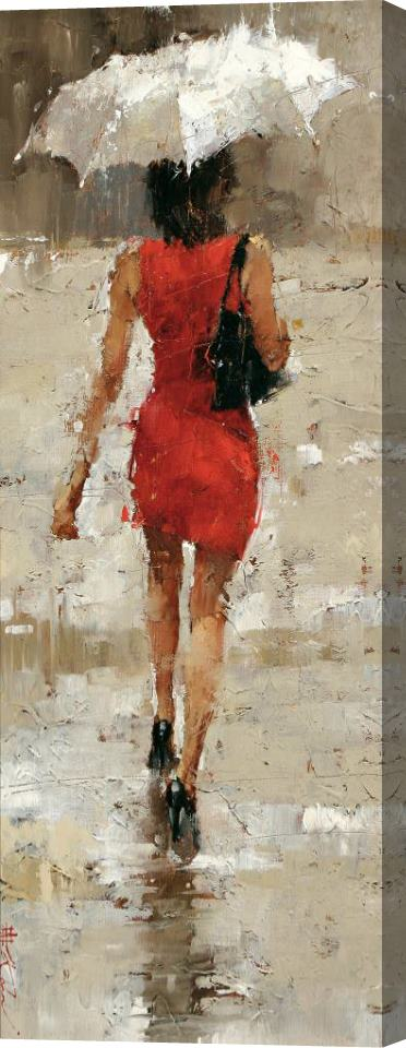 Andre Kohn Stilettos Stretched Canvas Print / Canvas Art