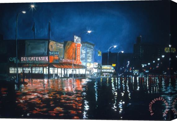 Anthony Butera Coney Island Stretched Canvas Print / Canvas Art