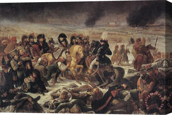 Antoine Jean Gros Napoleon on The Battlefield of Eylau Stretched Canvas Print / Canvas Art