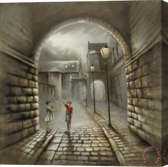 Bob Barker I鈥檓 Gonna Break Your Heart Stretched Canvas Print / Canvas Art