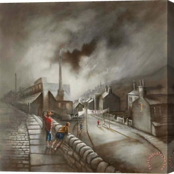 Bob Barker Run of The Mill Stretched Canvas Print / Canvas Art