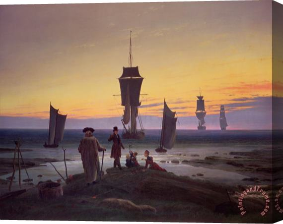 Caspar David Friedrich The Stages of Life Stretched Canvas Print / Canvas Art