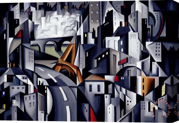 Catherine Abel La Rive Gauche Stretched Canvas Print / Canvas Art
