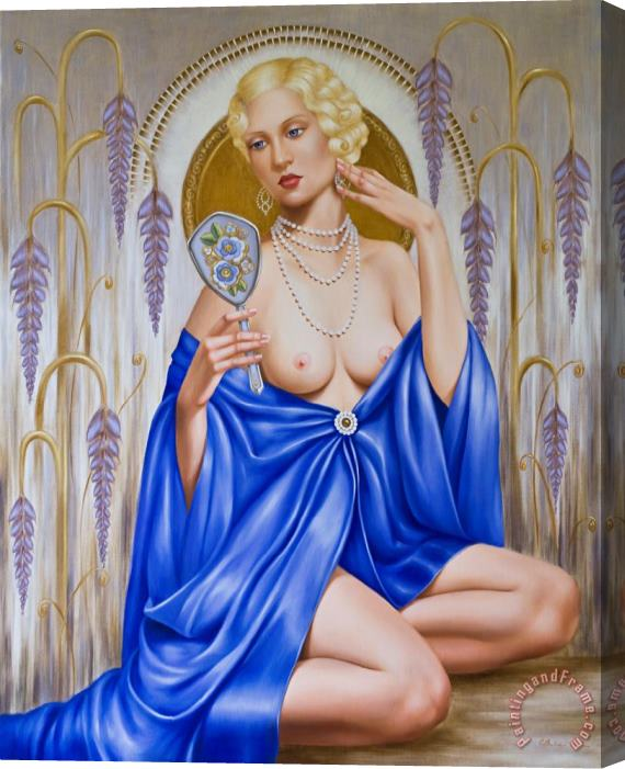 Catherine Abel Rhapsody in Blue Stretched Canvas Print / Canvas Art