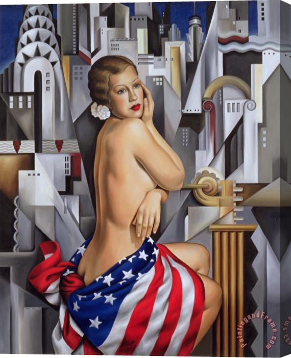 Catherine Abel The Beauty of Her Stretched Canvas Print / Canvas Art