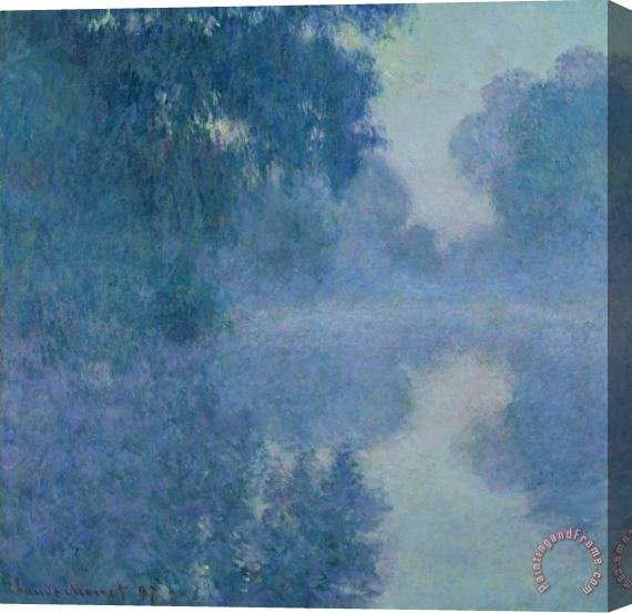 Claude Monet Branch of the Seine near Giverny Stretched Canvas Painting / Canvas Art