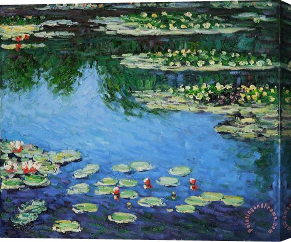 Claude Monet Water Lilies Stretched Canvas Print / Canvas Art