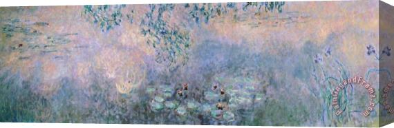 Claude Monet Water Lilies Stretched Canvas Painting / Canvas Art