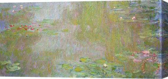 Claude Monet Waterlilies at Giverny Stretched Canvas Print / Canvas Art