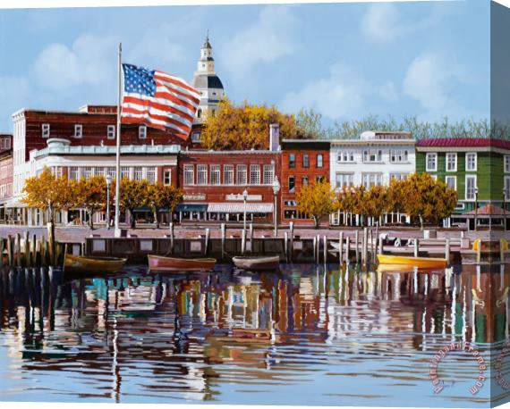 Collection 7 Annapolis Stretched Canvas Print / Canvas Art
