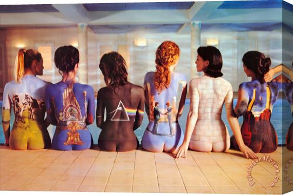 Collection Pink Floyd Back Catalogue Stretched Canvas Print / Canvas Art