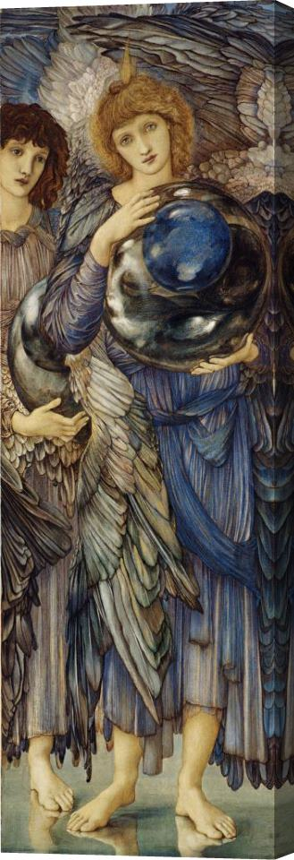 Edward Burne Jones The Days of Creation The Second Day Stretched Canvas Print / Canvas Art